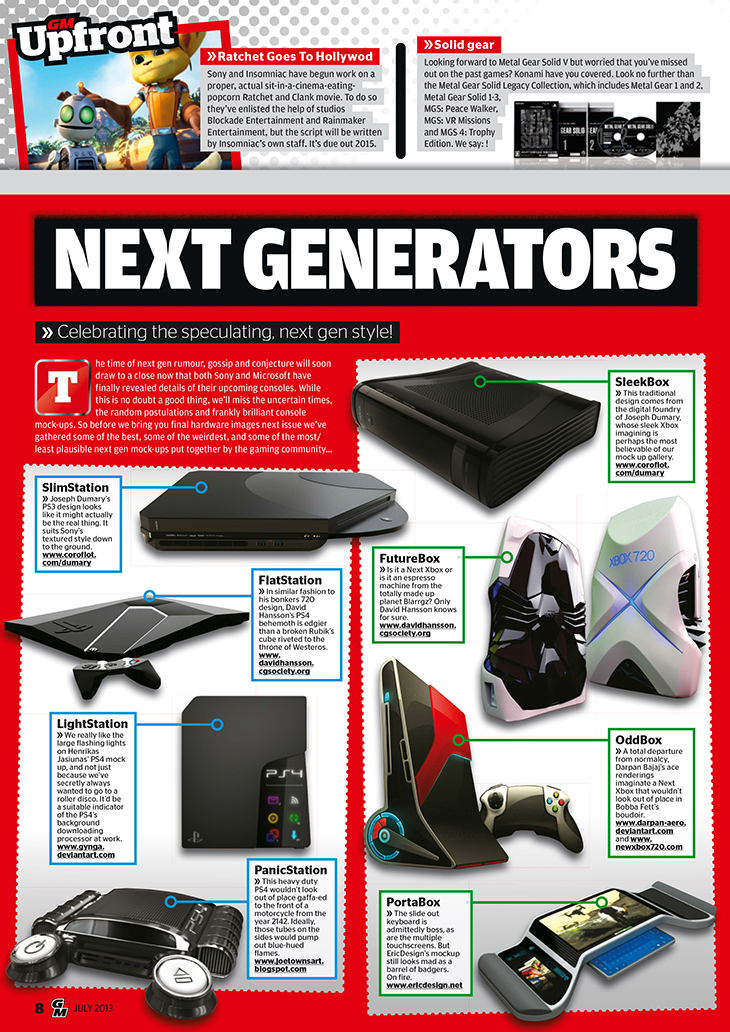 Games Magazine Features PS4 Experts Concept Artists!