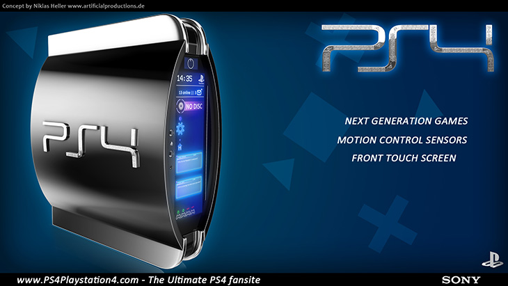 PS4 Concept Design - Console by Niklas Heller