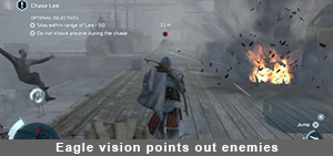 Assassin's Creed IV Eagle vision