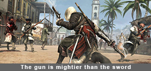 Assassin's Creed IV Eagle gun