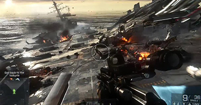 Battlefield 4 vs. Call of Duty Ghosts
