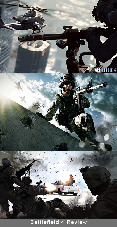 Battlefield 4 vs. Call of Duty Ghosts playstation 4
