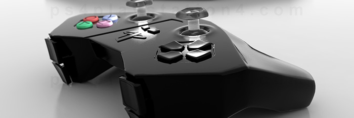 Controller Close-Up and Console by David Hansson