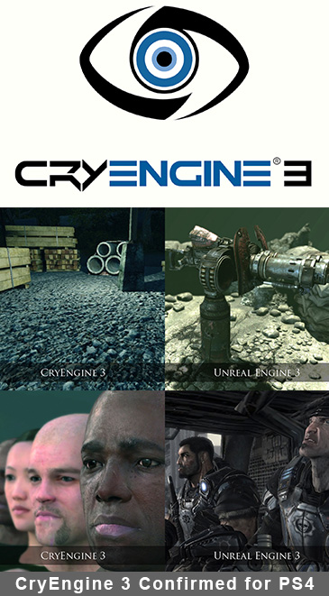 CryEngine 3 Confirmed for PS4