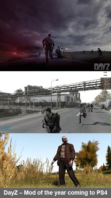 DayZ – Mod of the year coming to PS4