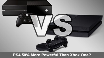 Developer Claims PlayStation 4 is 50% More Powerful Than Xbox One