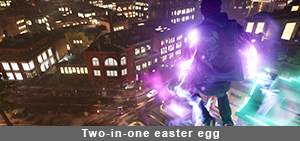 Two-in-one easter egg
