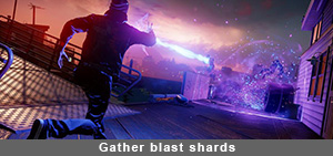 Infamous Second Son Gather Blast Shards