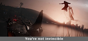 Infamous Second Son you're not invincible