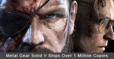 Metal Gear Solid V Ships 1 Million Copies
