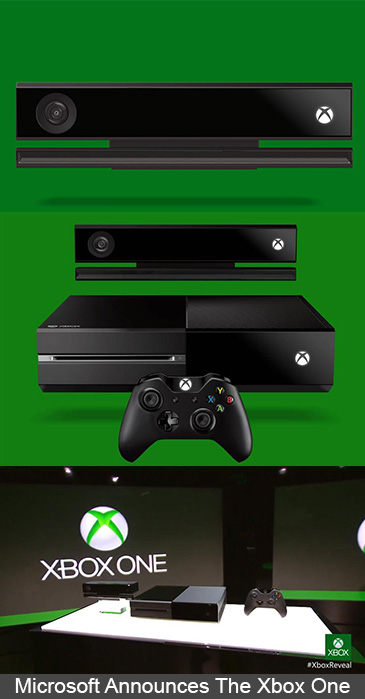 Microsoft Announces The Xbox One