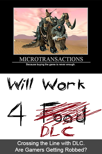 microtransactions dlc ps4