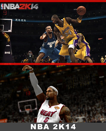 NBA 2K14 – LeBron Takes Over!