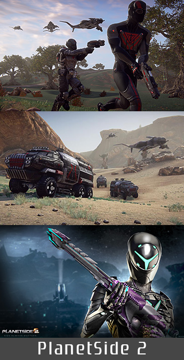 PlanetSide 2 Reporting For Duty On The PlayStation 4
