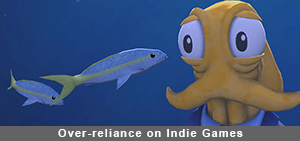 Over-reliance on Indie Games