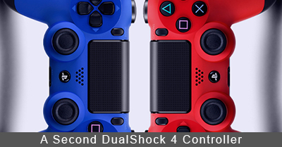 PlayStation 4 Second DualShock 4 Controller