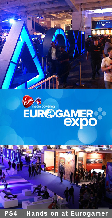 PS4 – Hands on at Eurogamer