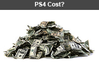 How much does the PlayStation 4 cost?