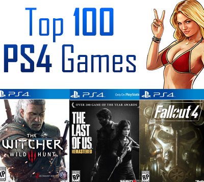 Top 100 PS4 Games