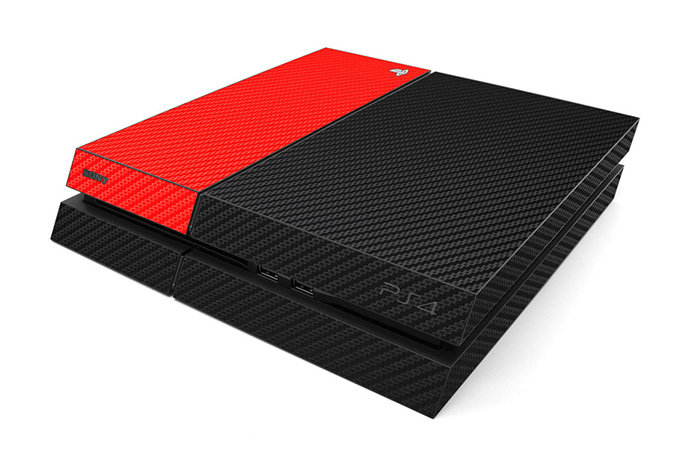 Red Carbon PS4
