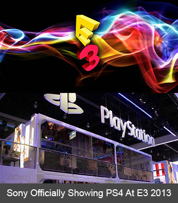 Sony Officially Showing PS4 At E3 2013 -- Time And Date Revealed!