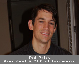 Ted Price, the President and CEO of Insomniac Games