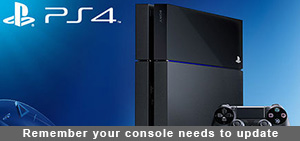 Remember your console needs to update ps4